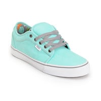 Vans Chukka Low Wash Hawaiian Mint Skate Shoe