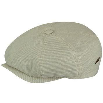 "Bailey ""Ashton"" Lined Cotton Newsboy Cap"