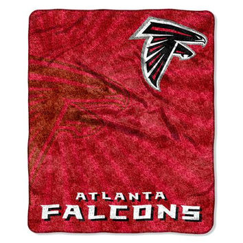 Atlanta Falcons NFL Sherpa Throw (Strobe Series) (50in x 60in)