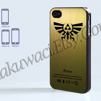 iFoce The Legend Of Zelda - iPhone 4 case - iPhone 4S case - Samsung Galaxy S3/S4 - iPhone case - Hard Plastic - Case Soft Rubber Case