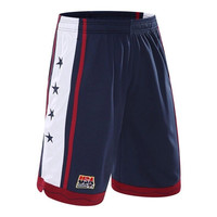 2017 USA the U.S. dream team basketball shorts Running shorts Three color basketball shorts beach shorts in summer