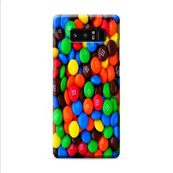 M&M's Candies Samsung Galaxy Note 8 case