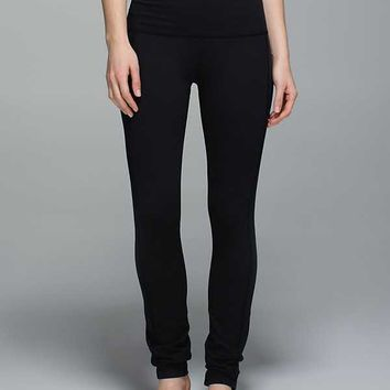 Skinny Groove Pant II (Roll Down) *Full-On Luon