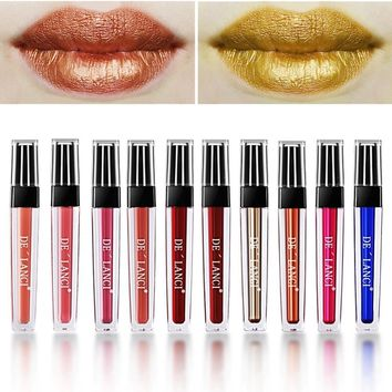 10 color Liquid Matte Lip gloss