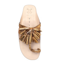 Figue Gold Scaramouche Sandal - Gold Scaramouche Sandal