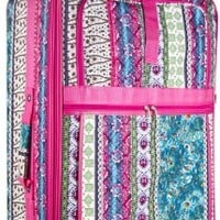 World Traveler Designer Print Collection 3 Piece Expandable Luggage Set