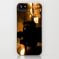 Firefighter-Burning House iPhone Case by Maureen Bates Photography | Society6