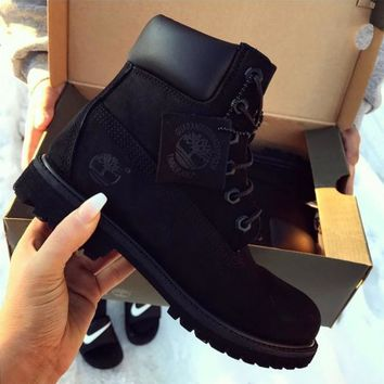shosouvenir-timberland-fashion-winter-waterproof-boots-martin-leather-boots-shoes number 1