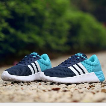 Adidas nmd sports shoes navy blue-blue-white line H-MDTY-SHINING