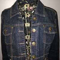 Cool Crop Dark Wash Denim Jacket from Fashion Gypsies