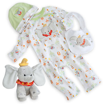 32ae8f7256392 Dumbo Layette Gift Set for Baby from DISNEY STORE | Future Kids