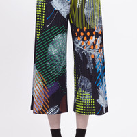 Totokaelo - Issey Miyake PLEATS PLEASE Wide Cropped Pants - $570.00
