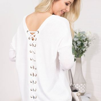 Sailor's Knot White Top