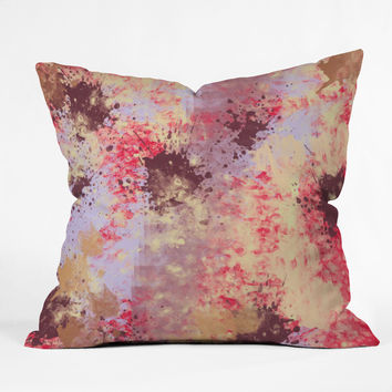 Amy Smith Sweet Grunge Outdoor Throw Pillow