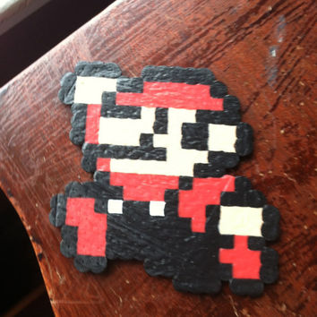 Mario Perler Bead: Old School