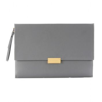 stella mccartney - beckett faux leather clutch