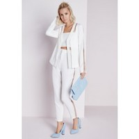 Missguided - Mesh Detail Blazer