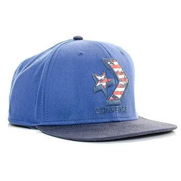 Converse Contrast Chevron Snapback Navy One Size Fits All