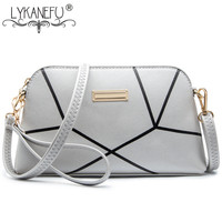 LYKANEFU New Shoulder Bag Handbags Women Messenger Bags Long Strap Shell Pattern Women Clutches Bolsas Femininas Dollar Price