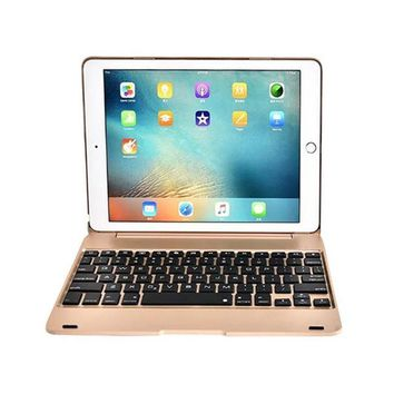 2016 Creative IPad Pro 9.7 Air 2 Keyboard Case ABS Stand Smart Cover Bluetooth Keyboard Folios Case Cover