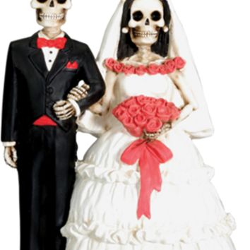Day Of The Dead - Wedding Couple