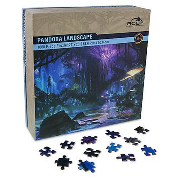 Disney Parks Pandora Landscape Puzzle Walt Disney World New