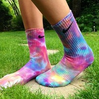 Nike tie dye socks  from HillsNCo