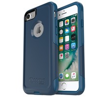 OtterBox COMMUTER SERIES Case for iPhone 8 & iPhone 7 (NOT Plus) - Retail Packaging - BESPOKE WAY (BLAZER BLUE/STORMY SEAS BLUE)