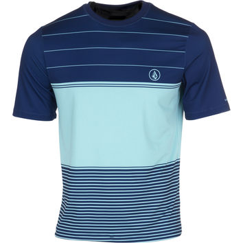 Volcom Sub Stripe Rashguard - Short-Sleeve - Men's