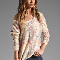Free People Flower Bomb Pullover in Antique Combo from REVOLVEclothing.com