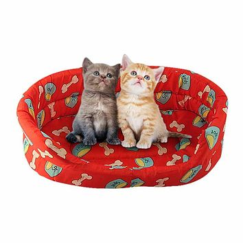 Pet Products Beds cushion Size L M Bed dog Bed House ET0060