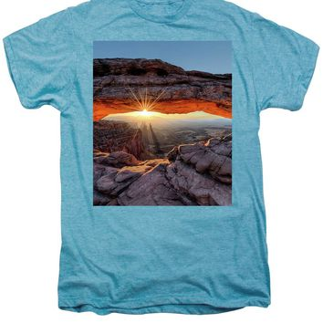 Mesa Arch Sunburst - Men's Premium T-Shirt
