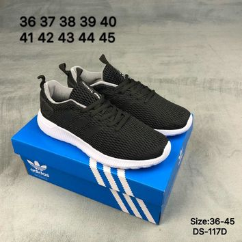 Adidas HOOPS TEAM MID W Men and Women Black Fashion Breathe Sports Running Shoes