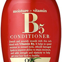 OGX Moisture Plus Vitamin B5 Conditioner, 13 Ounce