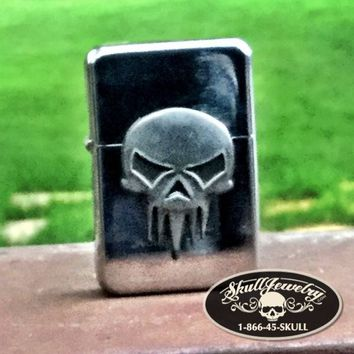 Punisher Inspired Skull Lighter (lighter012)