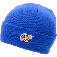 Odd Future OF Donut Blue Fold Beanie at Zumiez : PDP