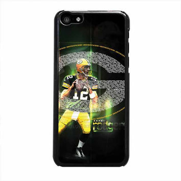 green bay packers aaron rodgers iphone 5c 4 4s 5 5s 6 6s plus cases