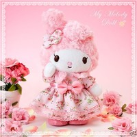 My melody Plush SANRIO from JAPAN