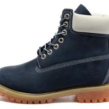 Timberland Men Women 6 Inch Boot Premium Blue