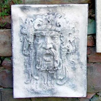Opimus Bountiful Garden Classical God Wall Plaque 29H - 7341