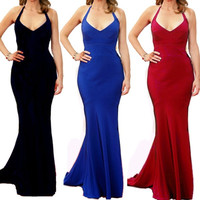 Women's Irregular?High Waist Long Maxi Club Party Cocktail Evening Dress  F_F = 1902730436