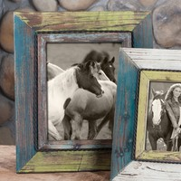 Distressed Wood Photo Frame 8x10 - Home