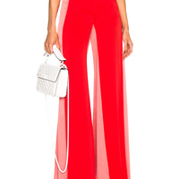 Valentino Side Stripe Track Pants in Poppy & Candy Pink | FWRD