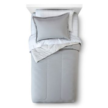 Room Essentials™ Solid Bed in a Bag with Sheet Set