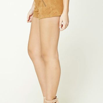 Genuine Suede Shorts