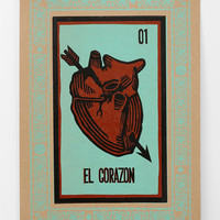 Hammerpress Tarot Heart Wall Art