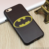 Marvel Super Hero 3D Emboss Soft TPU Luxury Silicone Phone Cases For iPhone 5 5S SE 6 6S 7 Plus
