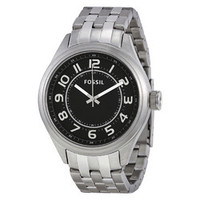 FOSSIL® Asher Three-Hand Stainless Steel Watch