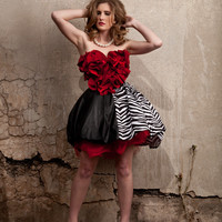 Queen of Hearts Bubble Dress