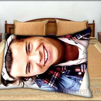 """Harry Styles Bandana One Direction ID - 20 """" x 30 """" inch,Pillow Case and Pillow Cover."""